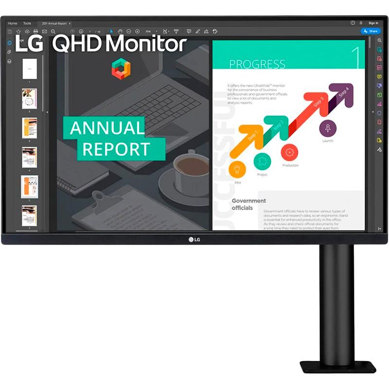 Монитор LG 27QN880-B Диагональ 27