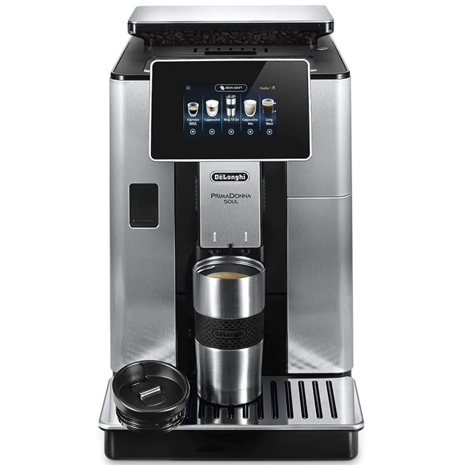 Кофемашина DELONGHI PrimaDonna Soul (ECAM610.74.MB) Тип кофейная машина