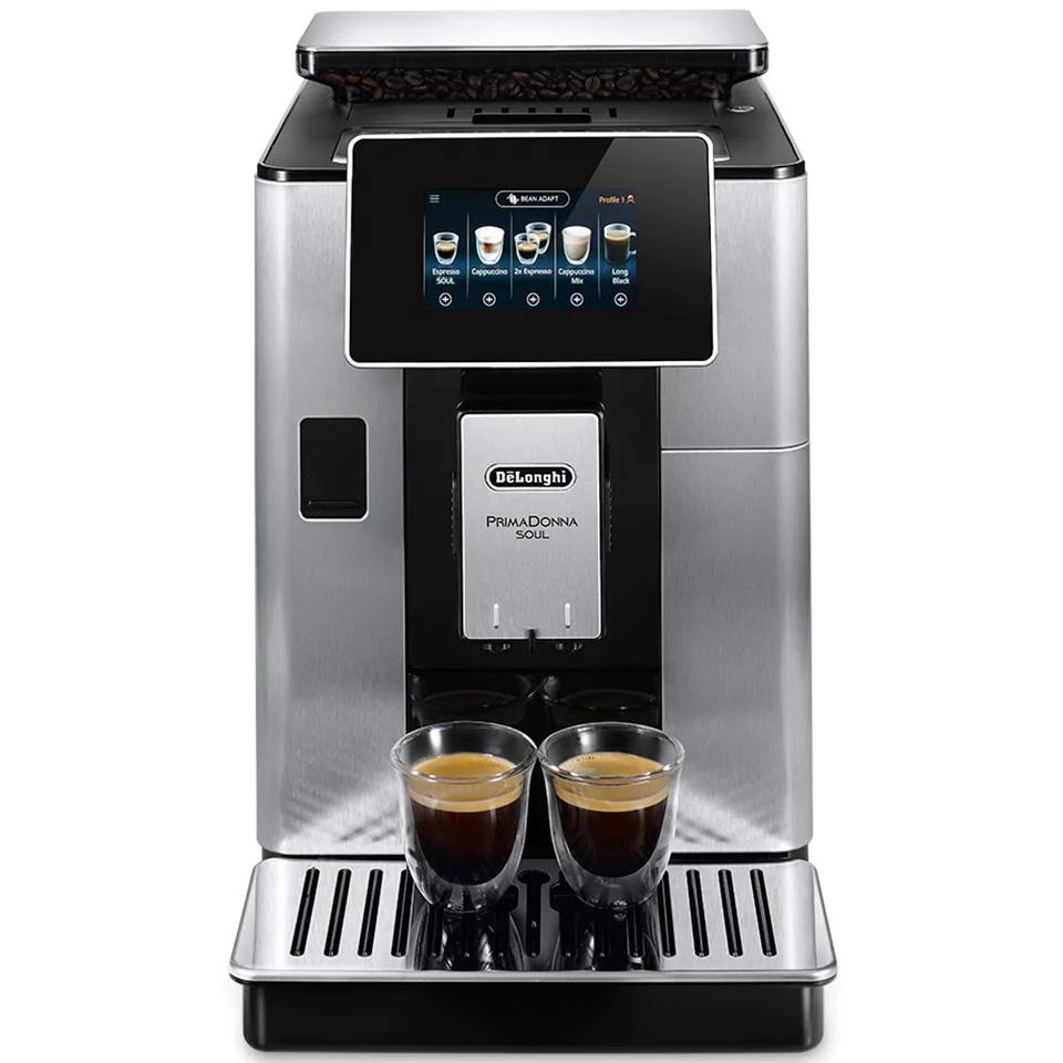 Кофемашина DELONGHI PrimaDonna Soul (ECAM610.74.MB) Мощность 1450