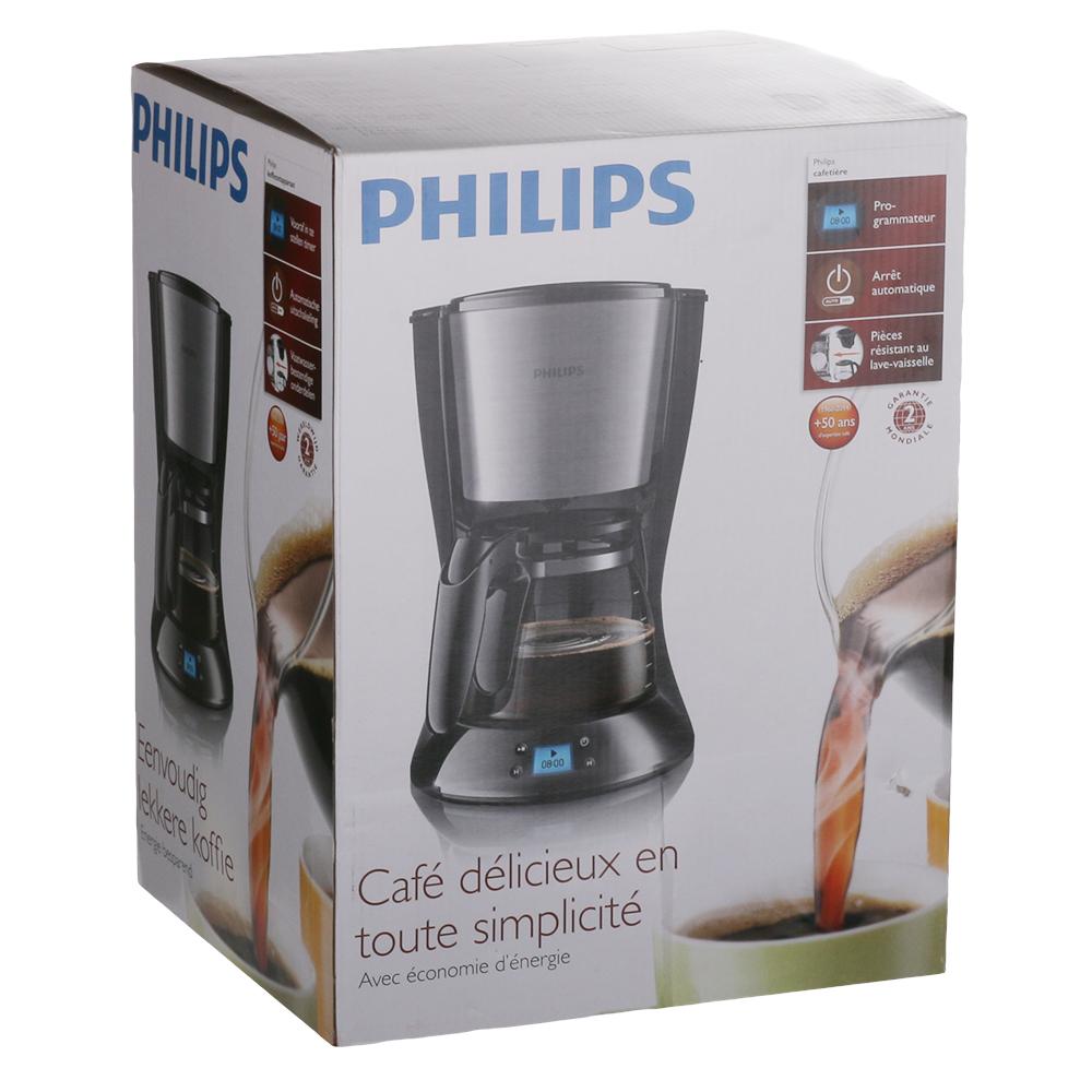 Кофеварка PHILIPS Daily Collection HD7459/20 Используемый кофе молотый