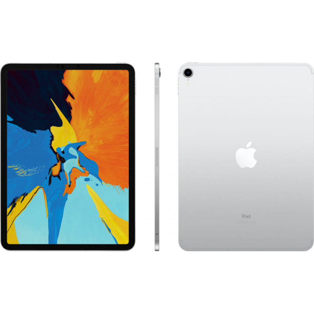 Планшет APPLE iPad Pro A1934 11 WF + Cellular 512GB Silver (MU1M2RK/A) Дисплей 11