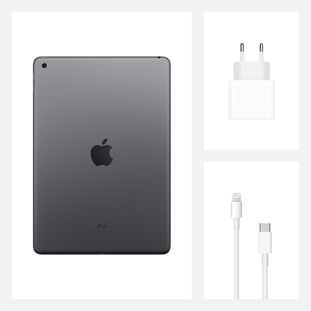 "Планшет APPLE iPad 10.2"" 32GB 2020 Wi-Fi Space Gray (MYL92RK/A) Тип матрицы IPS"