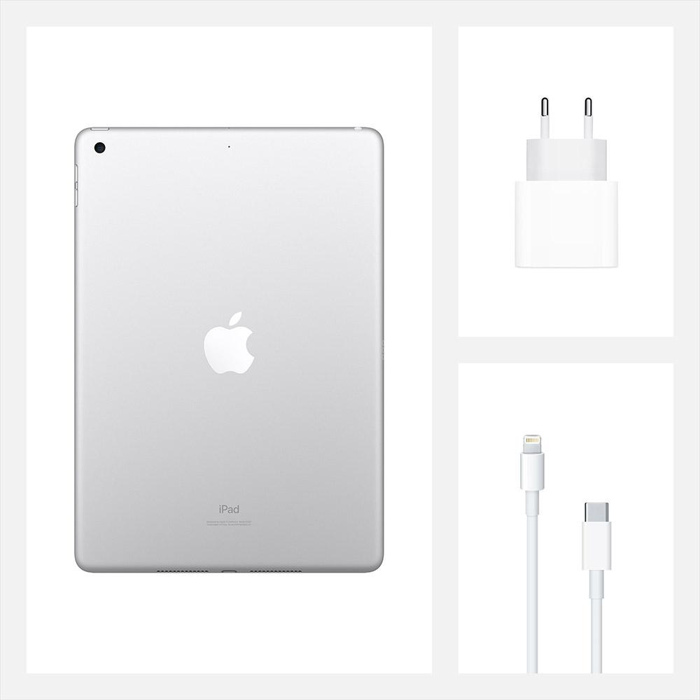 "Планшет APPLE iPad 10.2"" 32GB 2020 Wi-Fi Silver (MYLA2RK/A) Тип матрицы IPS"