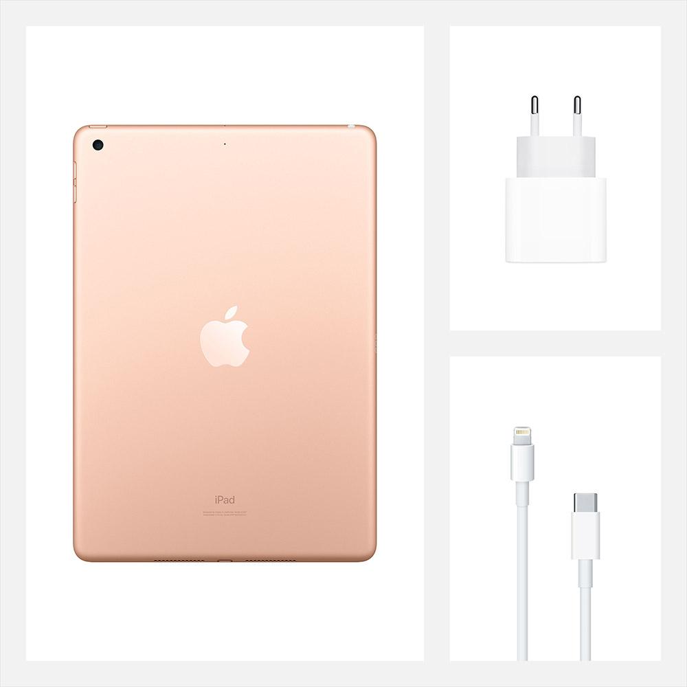 "Планшет APPLE iPad 10.2"" 32GB 2020 Wi-Fi Gold (MYLC2RK/A) Тип матрицы IPS"