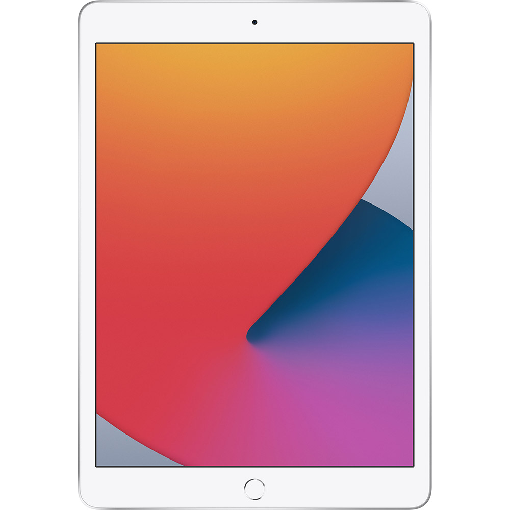 "Планшет APPLE iPad 10.2"" 128GB 2020 Wi-Fi Silver (MYLE2RK/A) Встроенная память, Гб 128"