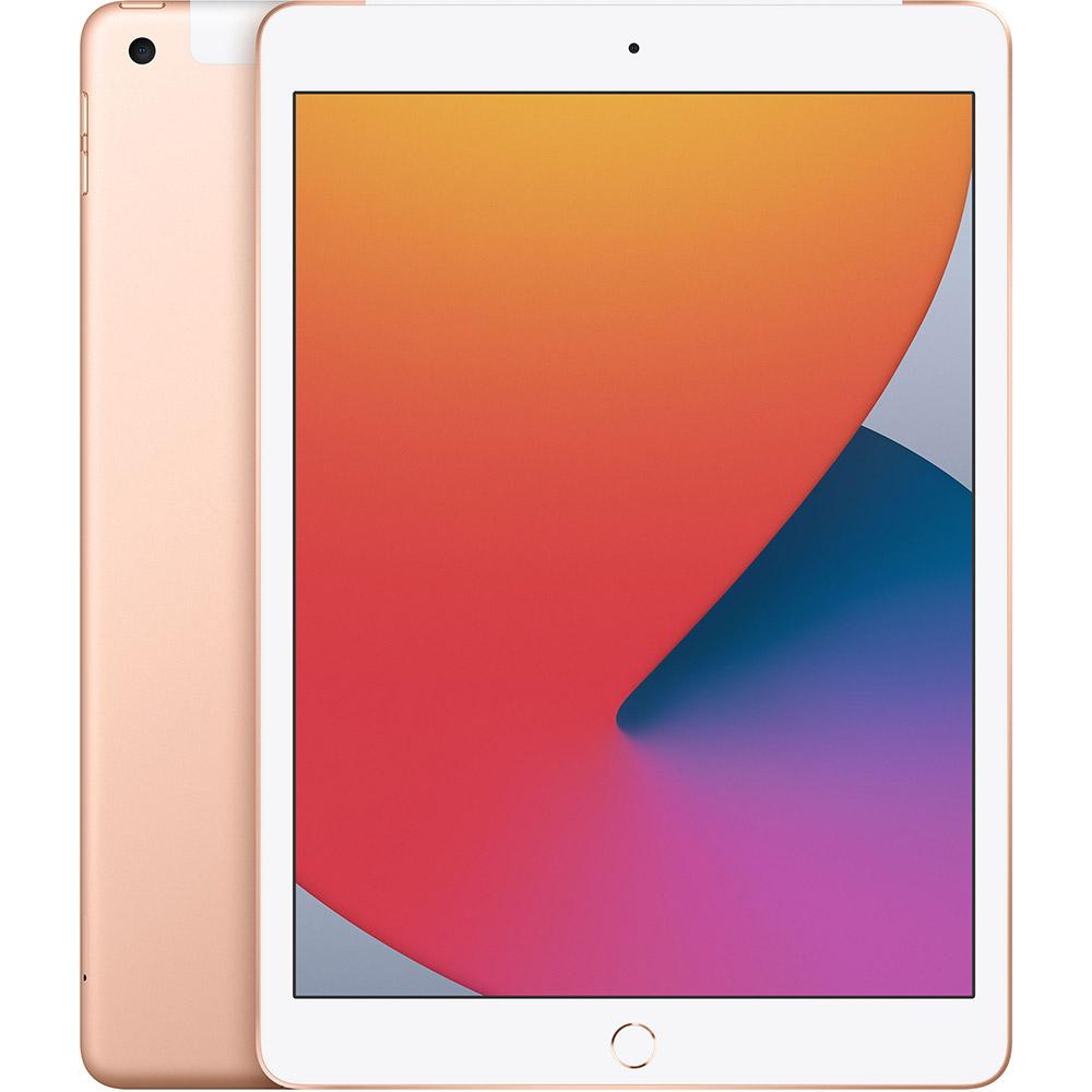 "Планшет APPLE iPad 10.2"" 32GB 2020 Wi-Fi + Cellular Gold (MYMK2RK/A)"