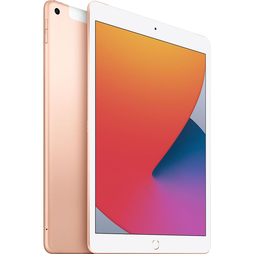 "Планшет APPLE iPad 10.2"" 32GB 2020 Wi-Fi + Cellular Gold (MYMK2RK/A) Дисплей 10.2"
