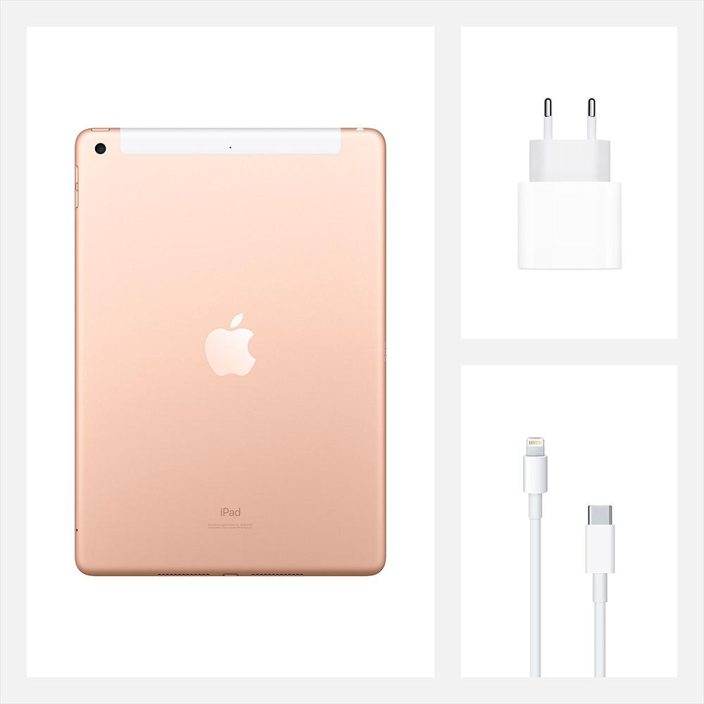 "Планшет APPLE iPad 10.2"" 32GB 2020 Wi-Fi + Cellular Gold (MYMK2RK/A) Тип матрицы IPS"