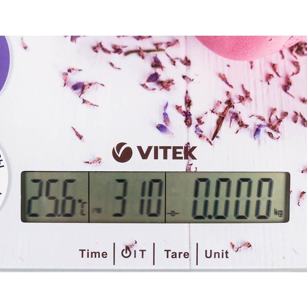 Весы кухонные VITEK VT-8009 Материал платформы пластик