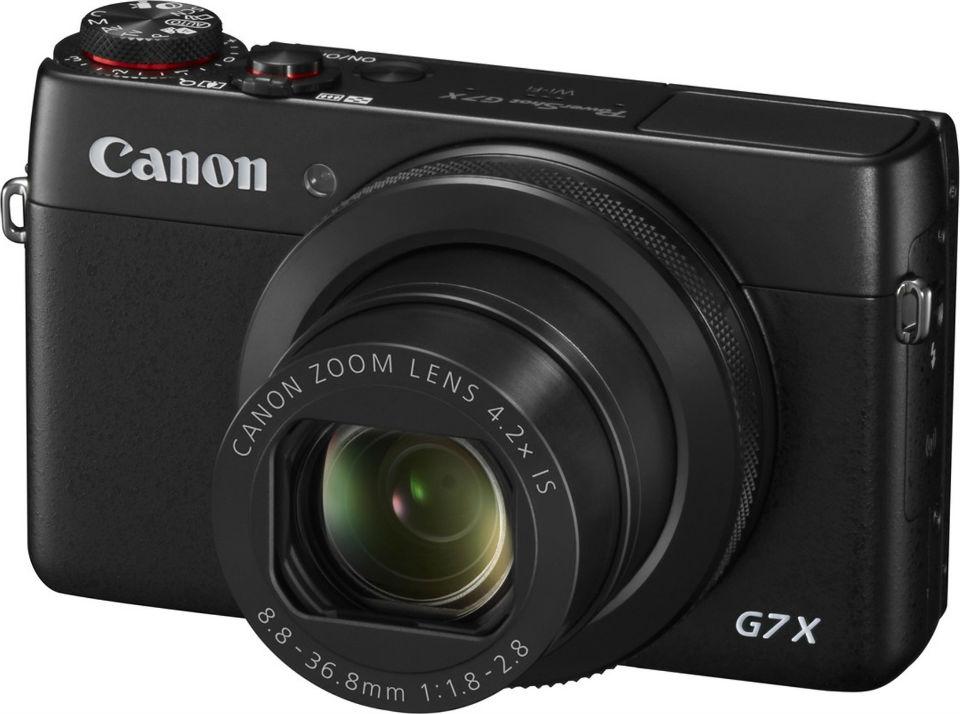 Фотоаппарат CANON PowerShot G7 X Mark II (9546B010) Тип компактный