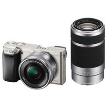 Фотоаппарат SONY A6000 + об'єктив 16-50 + 55-210mm kit Silver (ILCE6000YS.CEC)