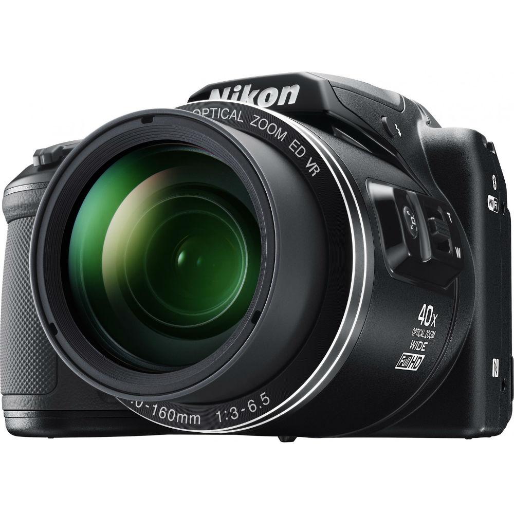 Фотоаппарат NIKON Coolpix B500 Black (VNA951E1) Кол-во эффективных мегапикселей 16