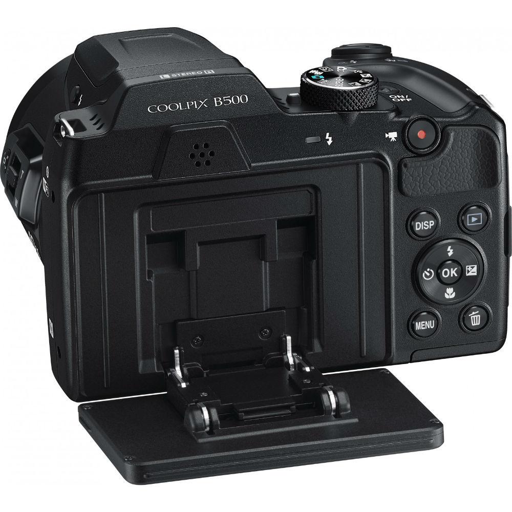 Фотоаппарат NIKON Coolpix B500 Black (VNA951E1) Тип матрицы CMOS (КМОП)