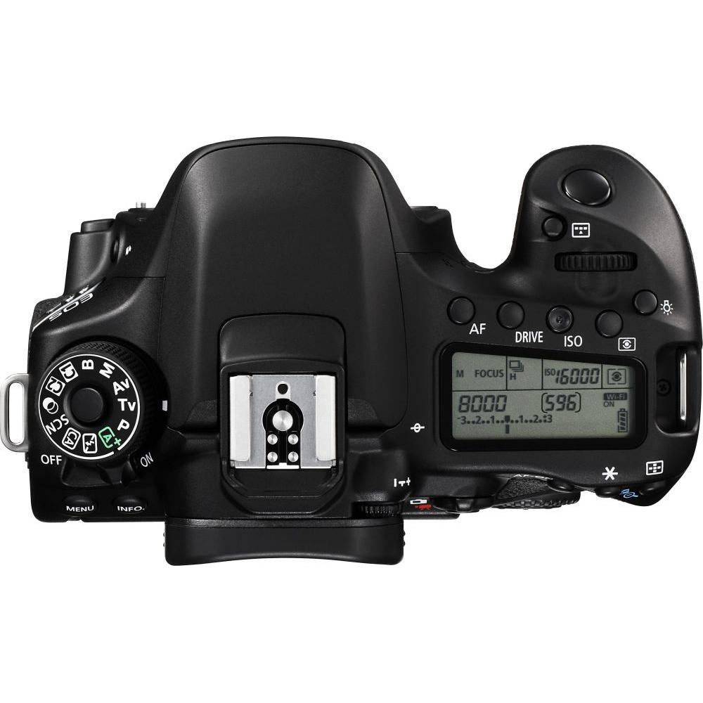 Фотоаппарат CANON EOS 80D 18-135 IS nano USM KIT (1263C040AA) Тип матрицы CMOS (КМОП)