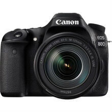 Фотоаппарат CANON EOS 80D 18-135 IS nano USM KIT (1263C040AA)