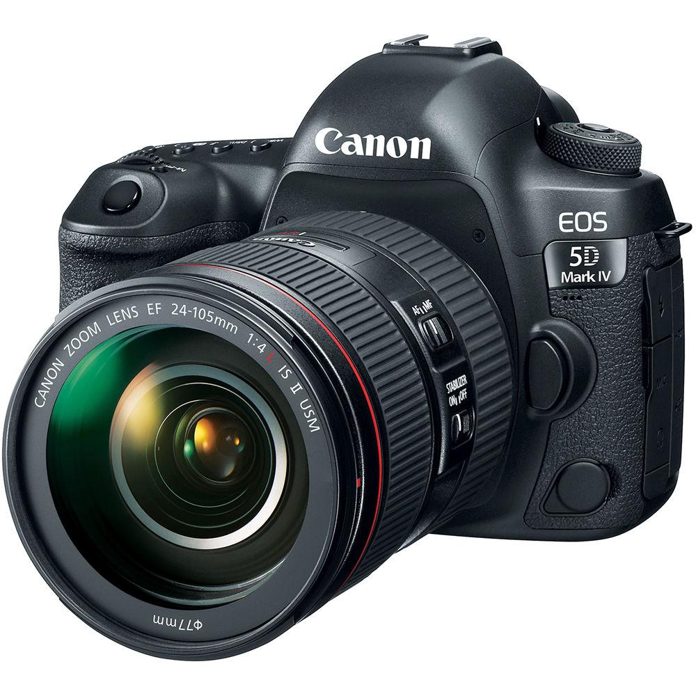 Фотоаппарат CANON EOS 5D Mark IV 24-105L IS II USM KIT (1483C030AA) Тип зеркальный