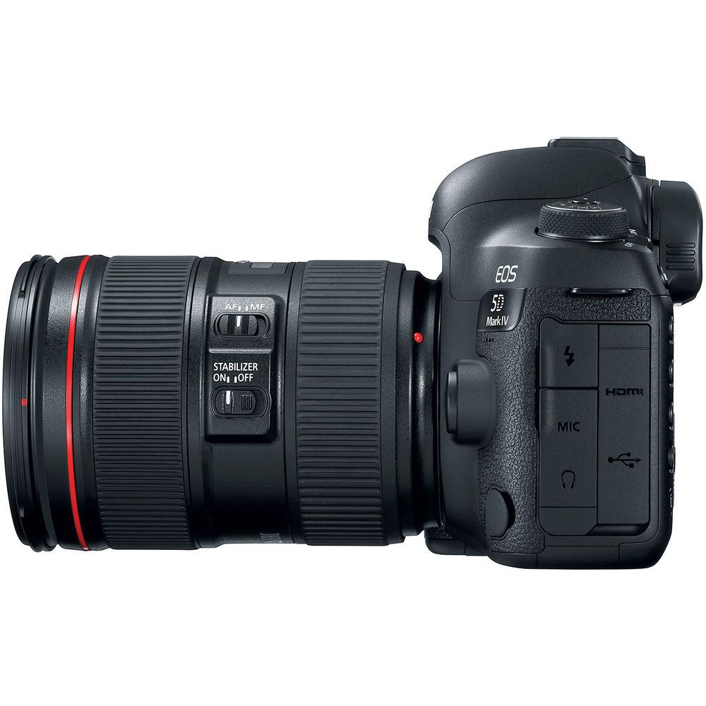 Фотоаппарат CANON EOS 5D Mark IV 24-105L IS II USM KIT (1483C030AA) Кол-во эффективных мегапикселей 30.4
