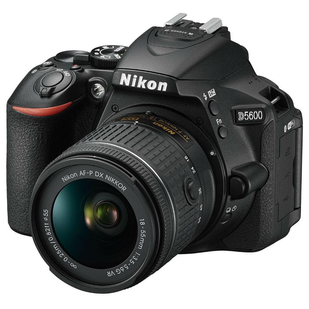 Фотоаппарат NIKON D5600 Kit 18-55 VR AF-P (VBA500K001) Тип зеркальный
