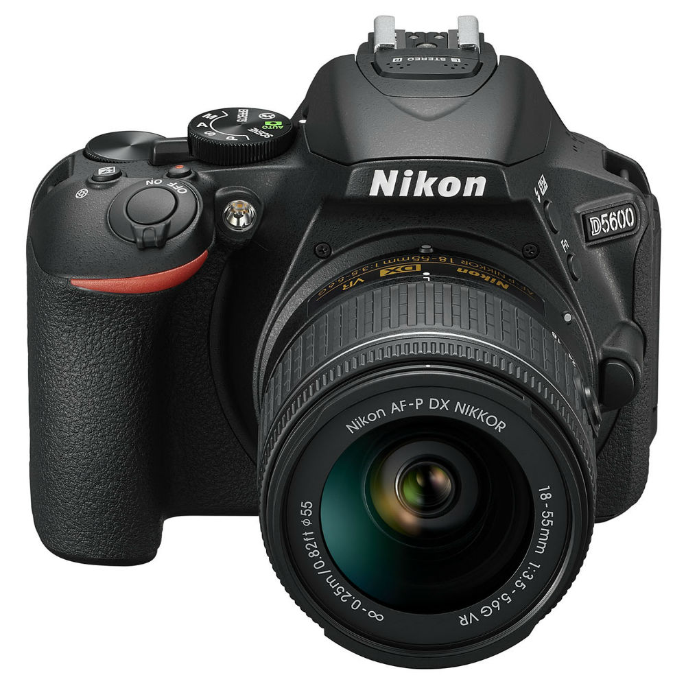 Фотоаппарат NIKON D5600 Kit 18-55 VR AF-P (VBA500K001) Кол-во эффективных мегапикселей 24.2