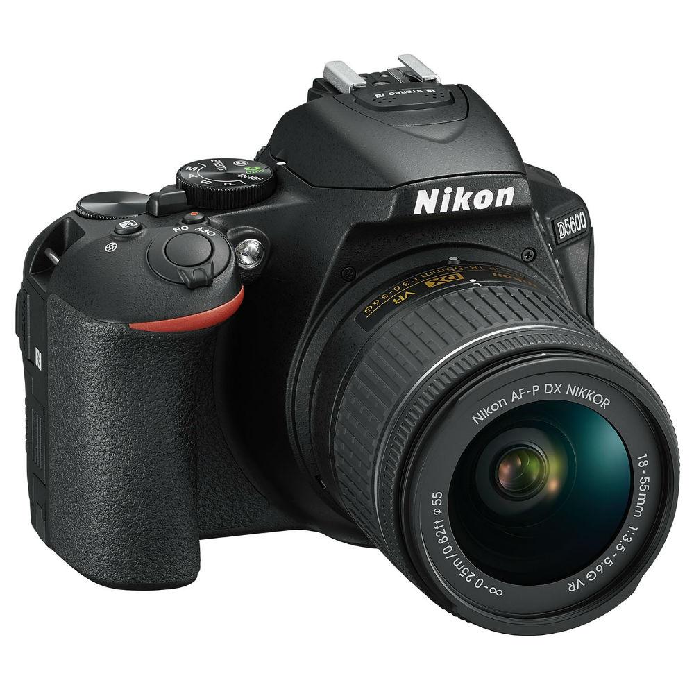 Фотоаппарат NIKON D5600 Kit 18-55 VR AF-P (VBA500K001) Тип матрицы CMOS (КМОП)