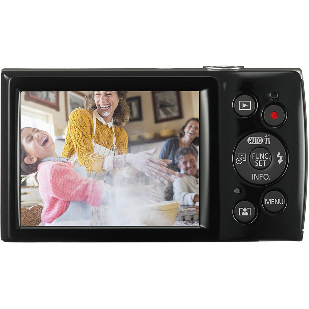 Фотоаппарат CANON IXUS 185 Black (1803C008) Тип компактный
