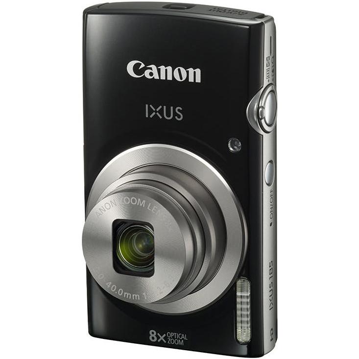Фотоаппарат CANON IXUS 185 Black (1803C008) Кол-во эффективных мегапикселей 20.5