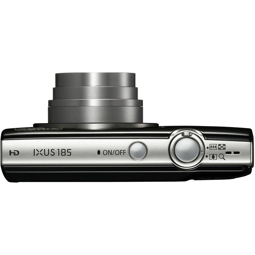 Фотоаппарат CANON IXUS 185 Black (1803C008) Тип матрицы CCD (ПЗС)