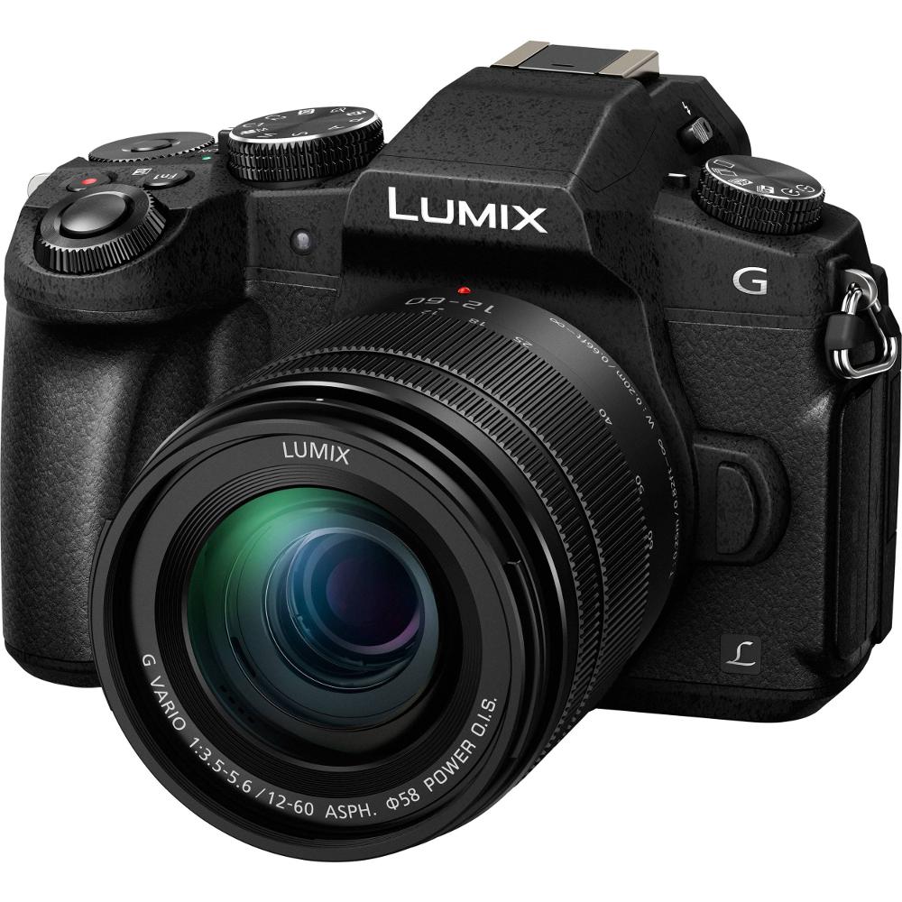 Фотоаппарат PANASONIC Lumix DMC-G80 Kit 12-60mm (DMC-G80MEE-K) Тип зеркальный