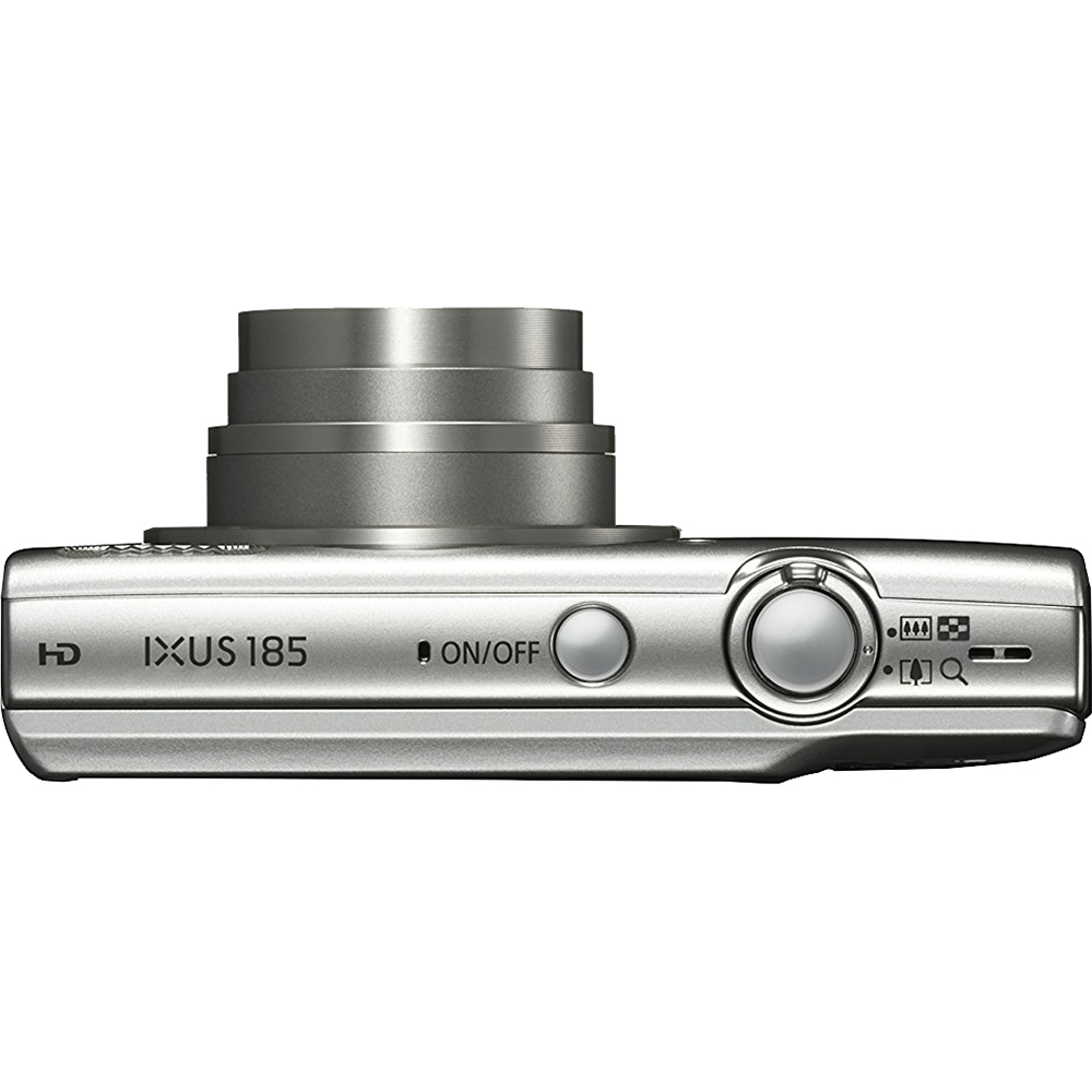 Фотоаппарат CANON IXUS 185 Silver (1806C008AA) Кол-во эффективных мегапикселей 20