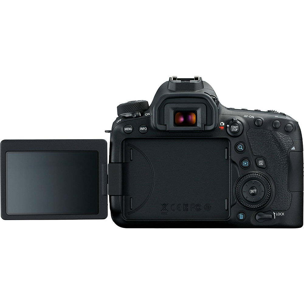 Фотоаппарат CANON EOS 6D MKII Body Кол-во эффективных мегапикселей 26.2