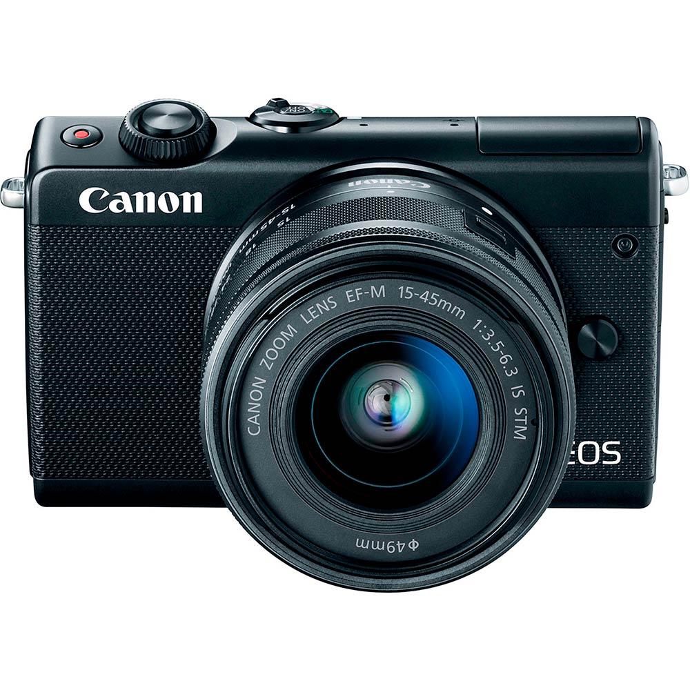 Фотоаппарат CANON EOS M100 15-45 RUK (CSC) Black (2209C048AA) Тип матрицы CMOS (КМОП)