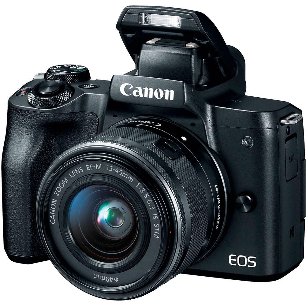 Фотоаппарат CANON EOS M50 EF-M 15-45mm f/3.5-6.3 IS STM Тип системный