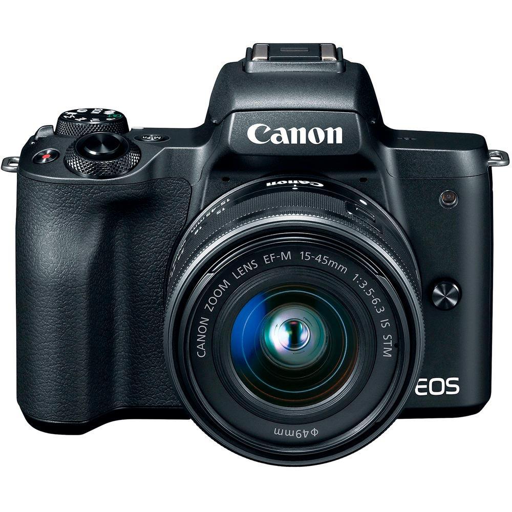 Фотоаппарат CANON EOS M50 EF-M 15-45mm f/3.5-6.3 IS STM Тип матрицы CMOS (КМОП)