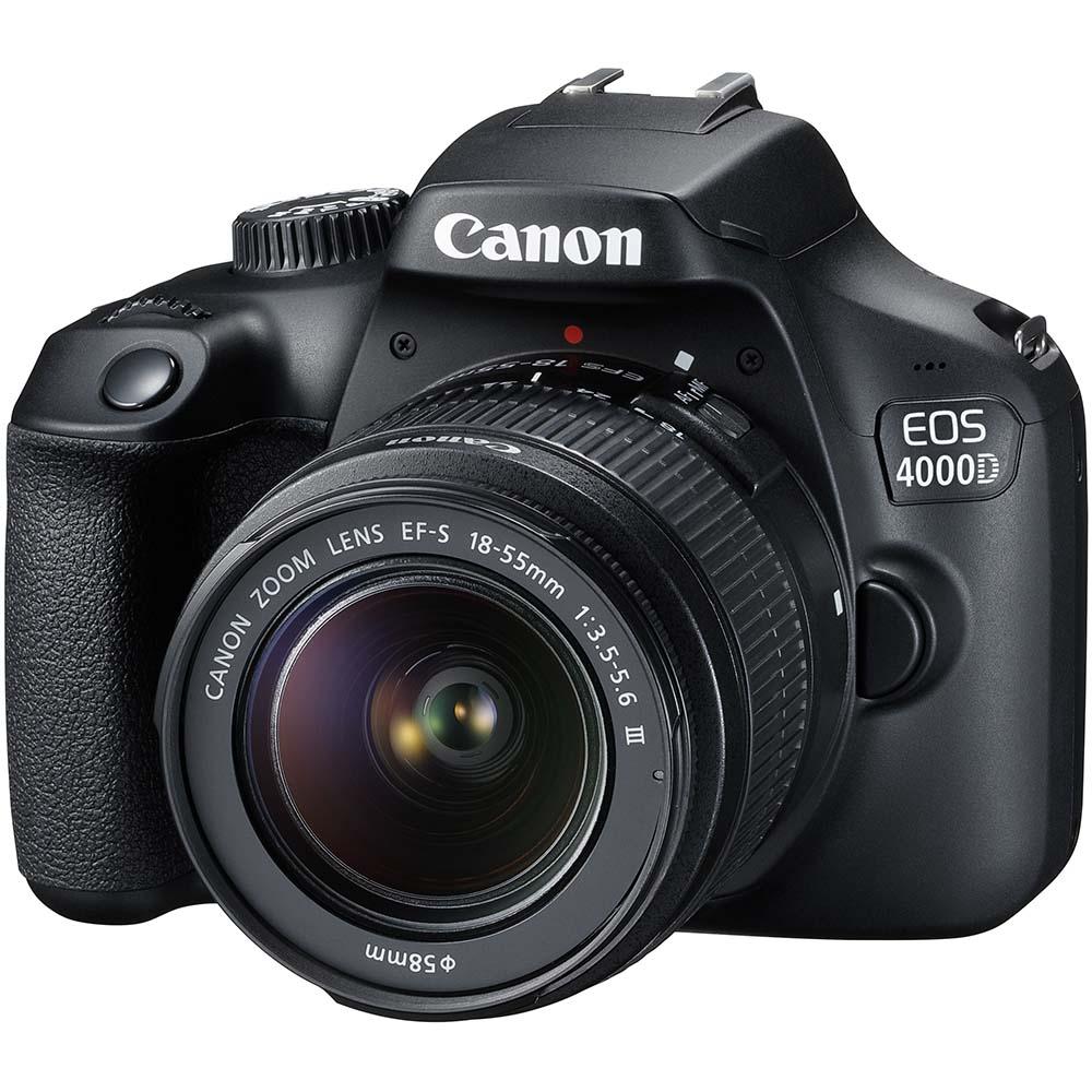 Фотоаппарат CANON EOS 4000D 18-55 DC III (3011C004AA) Кол-во эффективных мегапикселей 18
