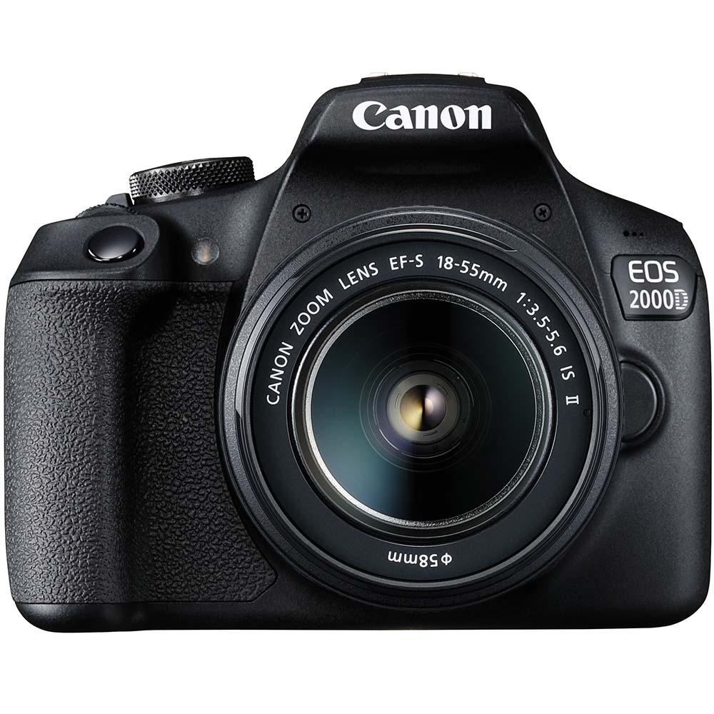 Фотоаппарат CANON EOS 2000D 18-55 IS II VUK