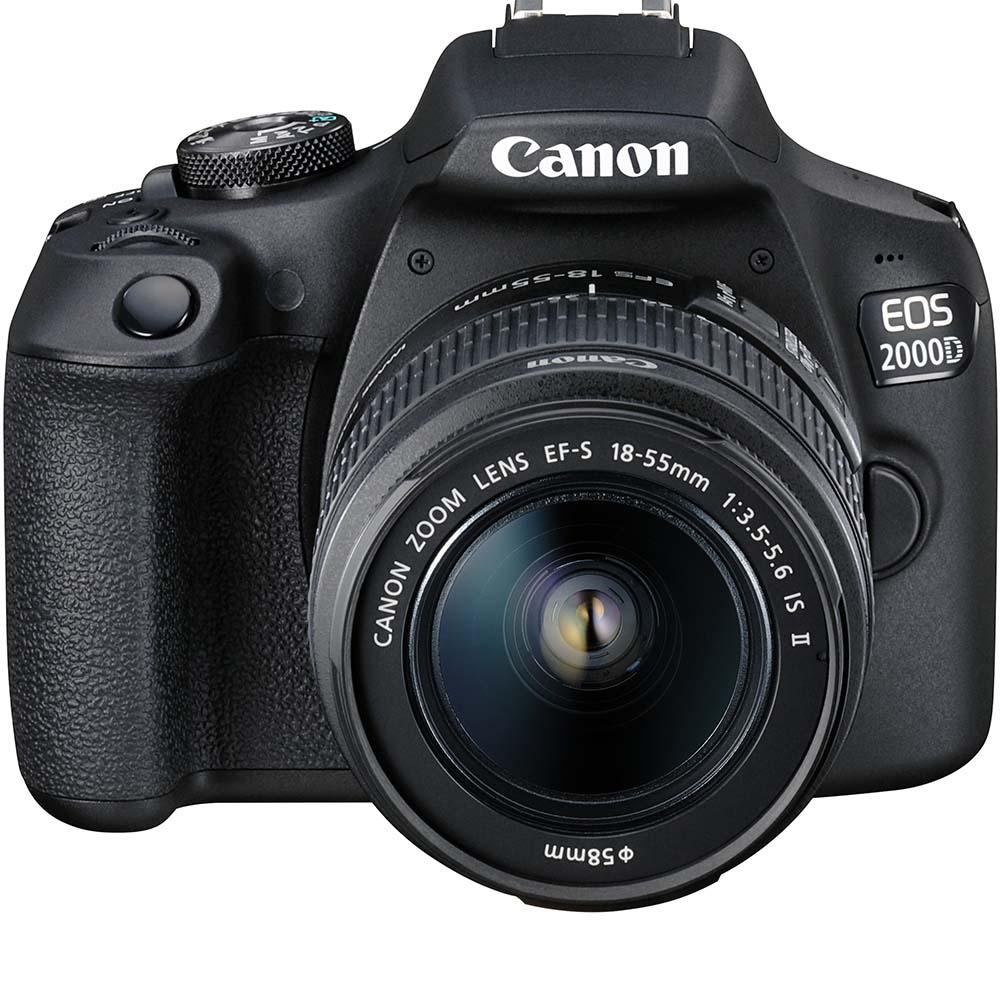 Фотоаппарат CANON EOS 2000D 18-55 IS II VUK Кол-во эффективных мегапикселей 24.1