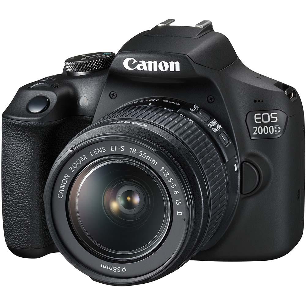 Фотоаппарат CANON EOS 2000D 18-55 IS II VUK Тип матрицы CMOS (КМОП)