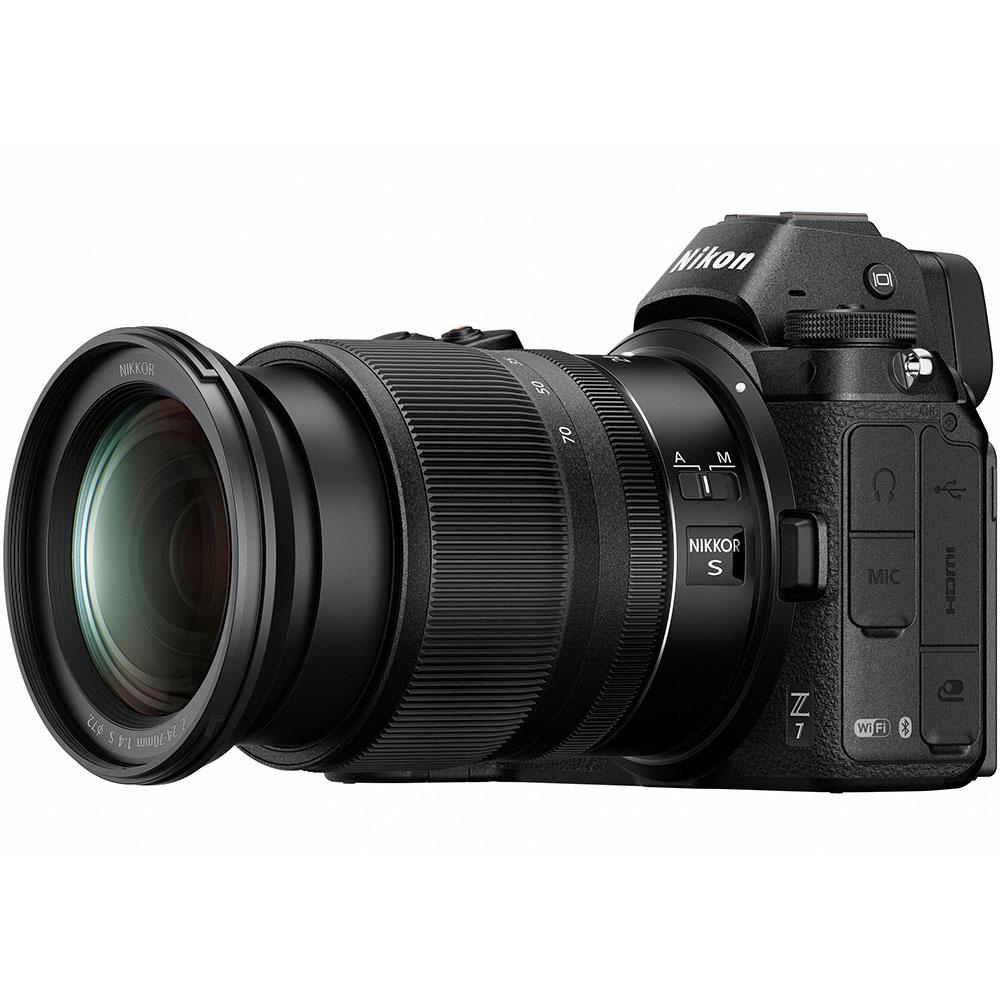 Фотоаппарат NIKON Z 7 + 24-70mm f4 Kit Кол-во эффективных мегапикселей 45.7