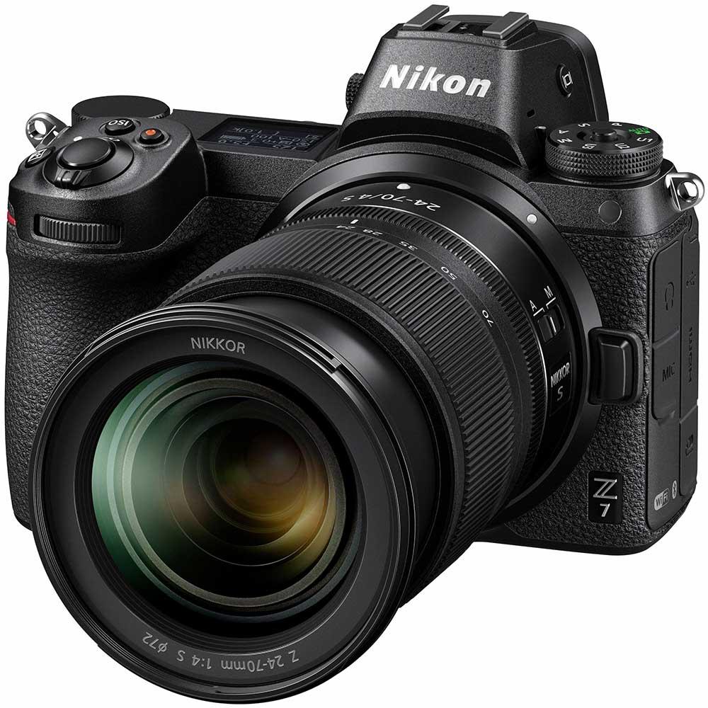 Фотоаппарат NIKON Z 7 + 24-70mm f4 Kit Тип матрицы CMOS (КМОП)