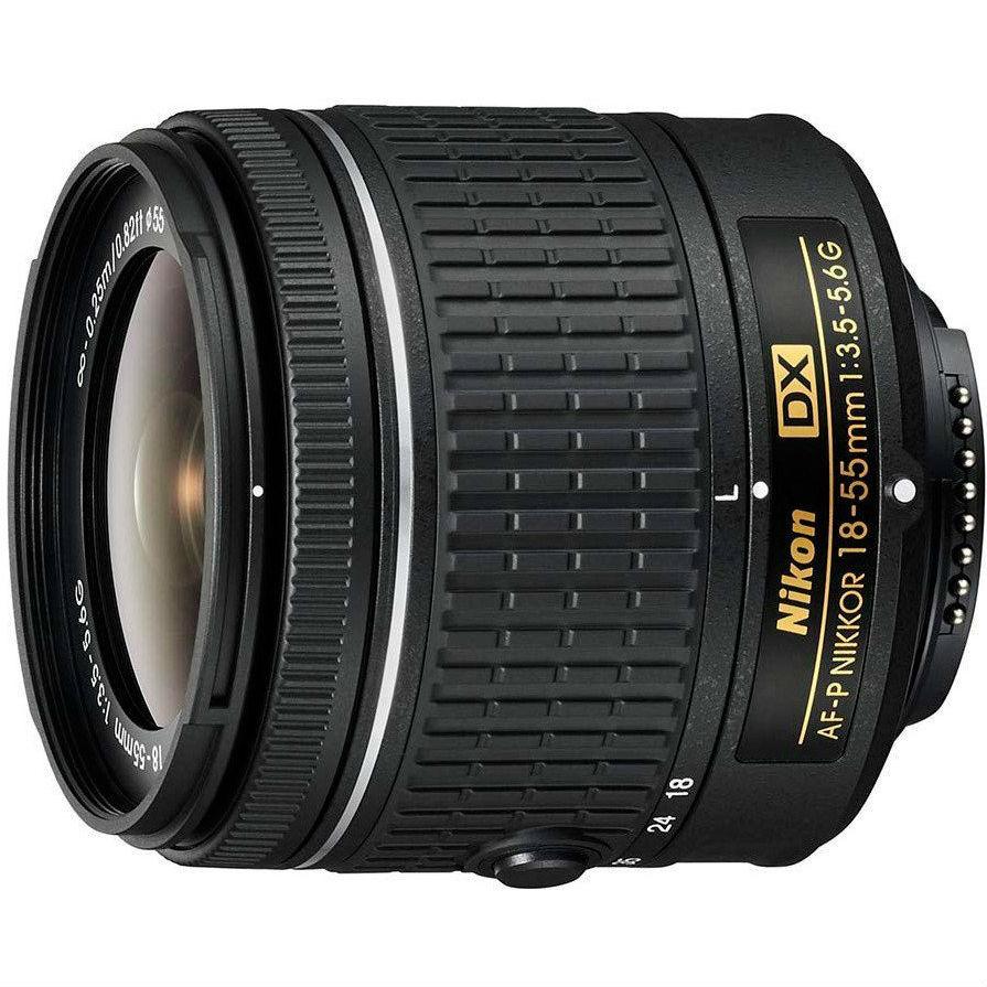 Фотоаппарат NIKON D3500 + AF-P 18-55 non VR Кол-во эффективных мегапикселей 24.2