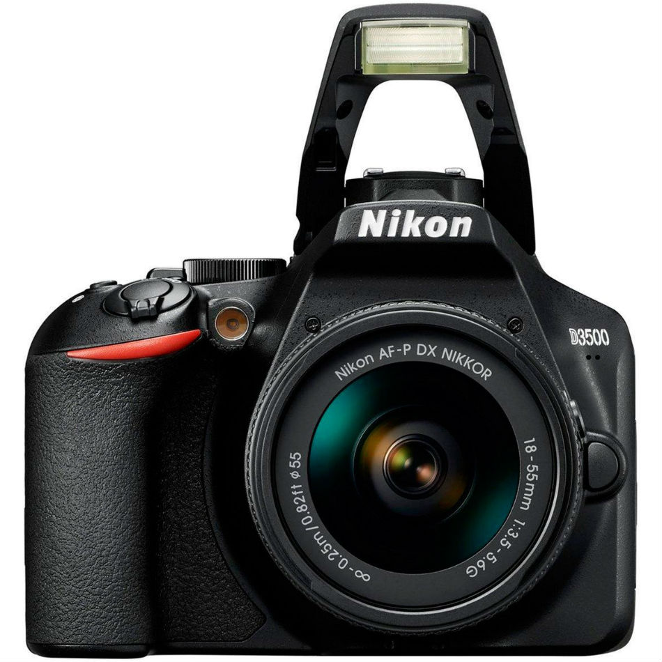 Фотоаппарат NIKON D3500 + AF-P 18-55 non VR Тип матрицы CMOS (КМОП)