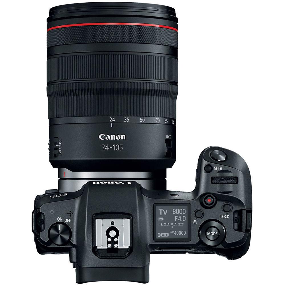 Фотоаппарат CANON EOS R + MT ADPT EF-EOS R RUK (3075C066AA) Тип матрицы CMOS (КМОП)