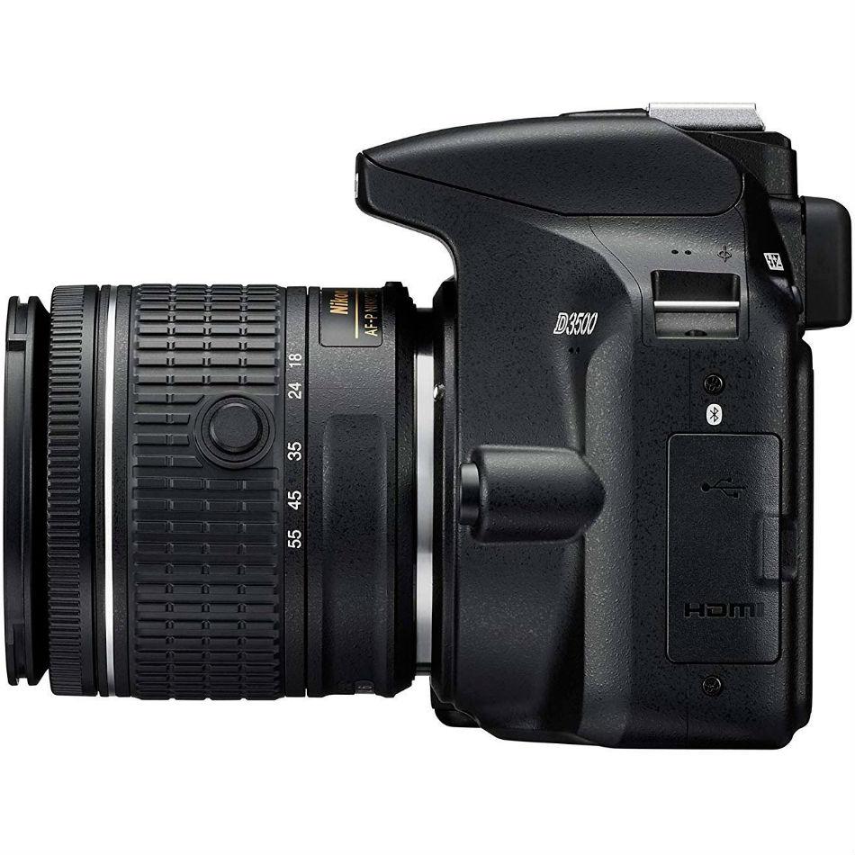Фотоаппарат NIKON D3500 + AF-S 18-140 VR Тип матрицы CMOS (КМОП)