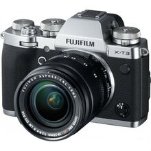 Фотоаппарат FUJIFILM X-T3 + XF 18-55mm F2.8-4.0 Kit Silver (16589254)