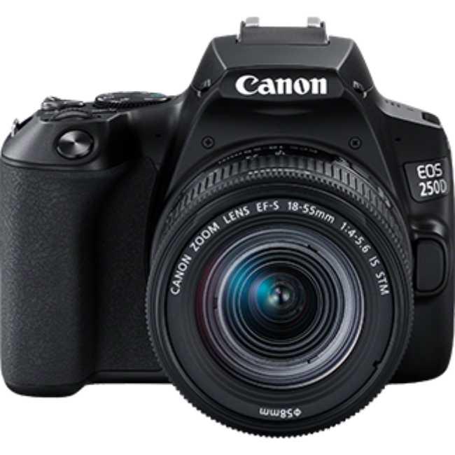 Фотоаппарат CANON EOS 250D BK 18-55 IS STM (3454C007)