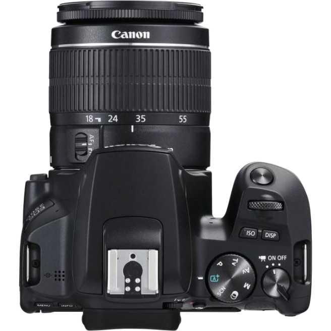 Фотоаппарат CANON EOS 250D BK 18-55 IS STM (3454C007) Тип матрицы CMOS (КМОП)