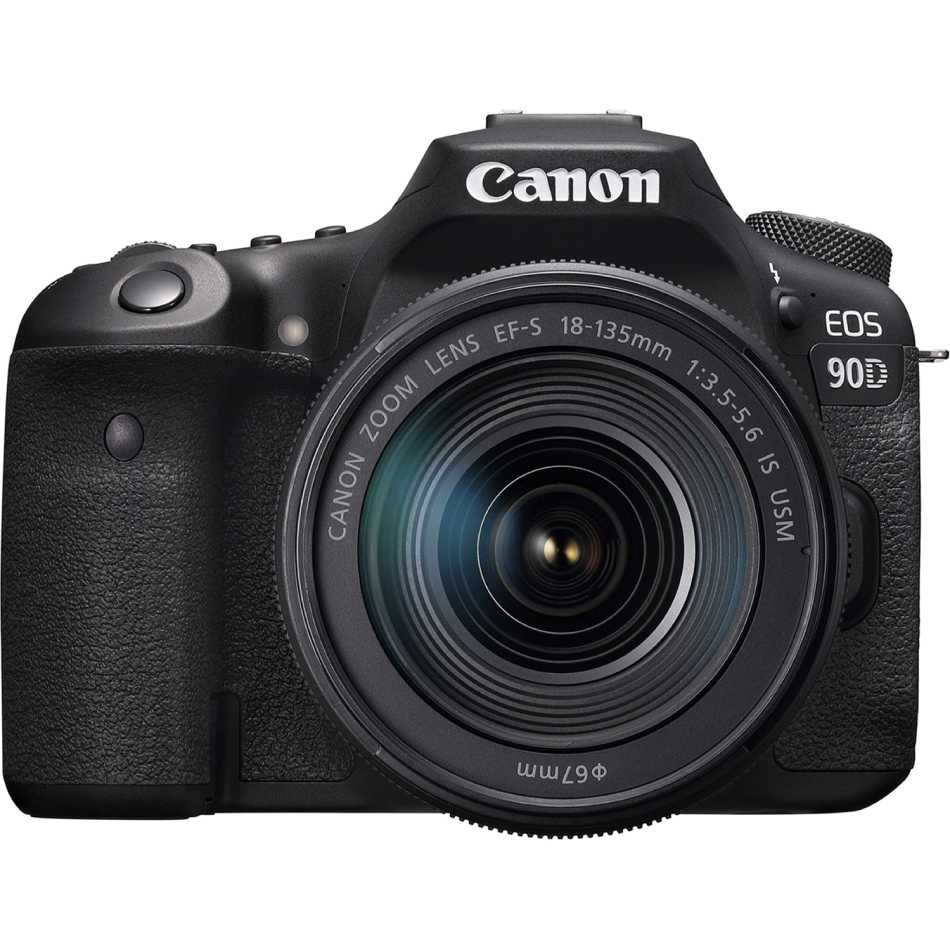 Фотоаппарат Canon EOS 90D EF-S 18-135mm IS USM Kit Black (3616C029AA)
