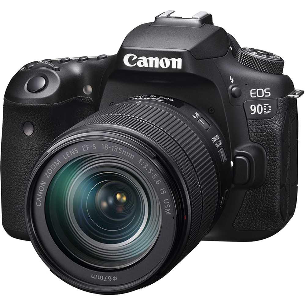 Фотоаппарат Canon EOS 90D EF-S 18-135mm IS USM Kit Black (3616C029AA) Тип зеркальный