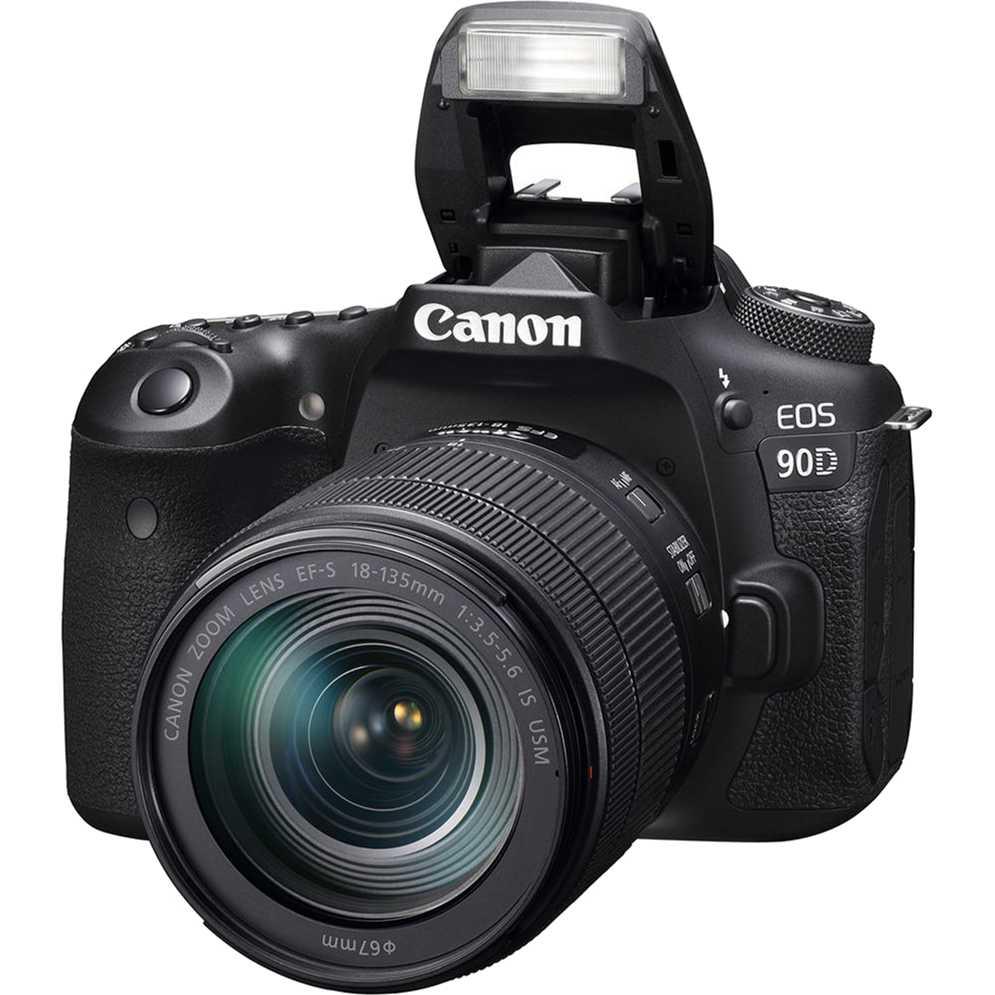 Фотоаппарат Canon EOS 90D EF-S 18-135mm IS USM Kit Black (3616C029AA) Кол-во эффективных мегапикселей 32.5