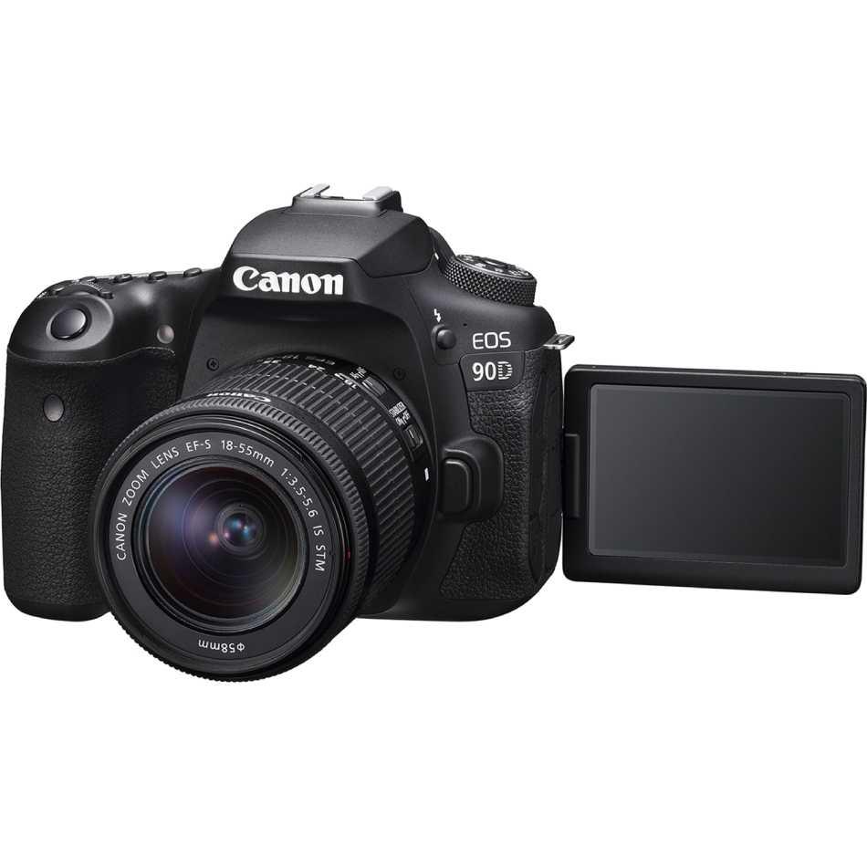 Фотоаппарат Canon EOS 90D EF-S 18-55mm IS STM Kit Black (3616C030AA) Кол-во эффективных мегапикселей 32.5